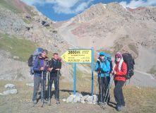 Киргизия, Восхождение на пик Ленина (7134 м)