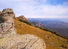 Крым, Горный лагерь «Долина привидений»