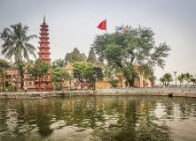 г.Ханой. Пагода Чан Куок