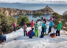 Крым, Новогодние каникулы в Судаке