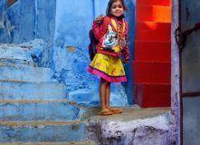 Джохпур, голубой город