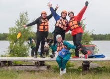 Карелия, Калга (Карелия): сплав на байдарках с выходом в Белое море