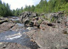 Карелия, Сплав по реке Суна на байдарках