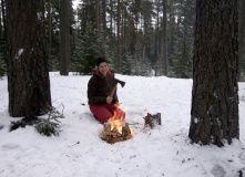 Сев-Запад, Экстремальный поход c основами обучения выживанию (зимняя ночёвка)