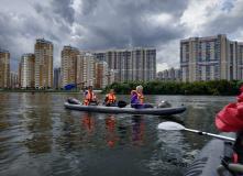 Подмосковье, Однодневный сплав по реке Москве - МосКаБай - Москва