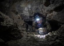 Подмосковье, Спелеопоход в Гурьевские каменоломни - Выходные в Бяках - Тульская область
