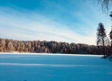 """Карелия, Снегоходный тур в Национальном Парке """"Паанаярви"""""""
