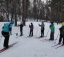 Подмосковье, Лыжи - обучение коньковому ходу