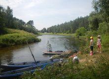 Подмосковье, Сплав с баней по рекам Руза и Москва