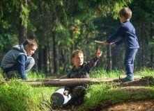 Подмосковье, Семейный лагерь с детьми на Селигере - Тверская область
