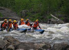Кольский, Сплав по реке Умба