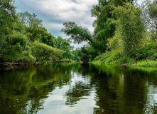Подмосковье, Сплав-эКсПедиция по реке Х на байдарках