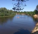 Подмосковье, Сплав на SUP board по реке Клязьма. Один день.
