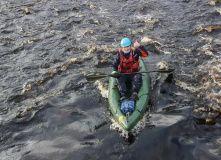Сев-Запад, Сплав по реке Мга на байдарках