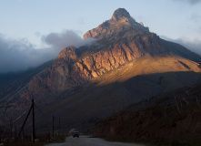 Кавказ, Горный лагерь в Чегемском ущелье (Кабардино-Балкария)