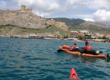 Крым, На каяках по Чёрному морю