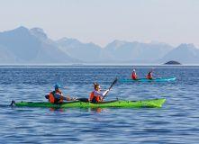 Норвегия, Тур по Лофотенским островам и Норвежскому морю на морских каяках + треккинг в горы