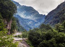 Кавказ, Горный лагерь в Дигории (Северная Осетия)