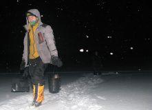 Карелия, Зимний поход на снегоступах - загадочная снежная Воттоваара