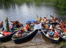 Сев-Запад, Поход на лодках с детьми [Ленобласть]