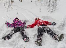 Подмосковье, Однодневный поход - Зимние приключения - Подмосковье