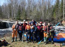 Русский Север, Сплав по реке Сывтуга (разведка)