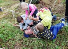 Сев-Запад, Байдарки и дети