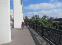 Подмосковье, Велопрогулка - Серебряный бор - Москва