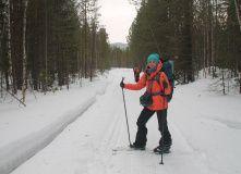 Урал, Лыжный поход - На перевал Дятлова
