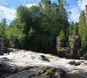 Карелия, Сплав по реке Китенйоки
