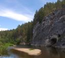 Урал, Оленьи ручьи. Малый экскурсионный маршрут + Карстовый мост