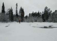 Кольский, Лыжный поход в Хибины (спортивный, 1-я категория сложности)