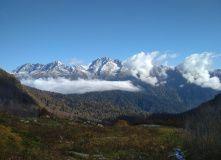 Кавказ, Окрестности Красной Поляны. Путешествие по хребту Ачишхо