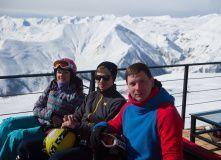 Грузия, Новогодний ски-тур в Гудаури