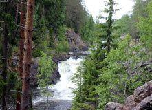 водопад Кивач (сплав по реке Суна)