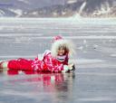 Байкал, Байкальский лёд с детьми - комфорт-тур