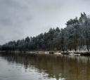 Подмосковье, Сплав на рафте по незамерзающей реке Пехорка