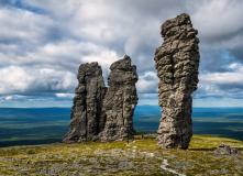 Урал, Пеший поход - Через перевал Дятлова на плато Маньпупунер