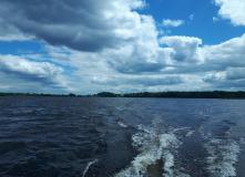 Подмосковье, Западный Селигер на катамаране с мотором - водный поход
