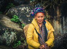г.Сапа. Женщина народности Красные Зао