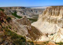 Казахстан, Автомобильный палеонтологический тур - полуостров Мангистау