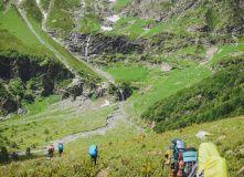 Кавказ, По горам Архыза: вдоль Главного Кавказского Хребта