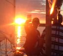 Подмосковье, Прогулка на парусной яхте по Клязьменскому водохранилищу