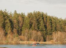 Сев-Запад, Сплав по реке Мста (на майские)