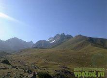 Киргизия, Горный трекинг к пику Ленина в Киргизии
