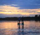 Сев-Запад, SUP прогулка по Лахтинскому разливу