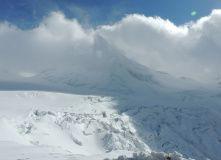 Кавказ, Восхождение на гору Казбек со стороны России