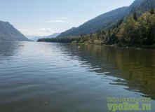 Алтай, Сплав по реке Бия и Телецкое озеро (разведка)