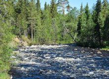 Сплав по реке Калга