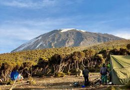 Восхождение на Килиманджаро. Маршрут Мачаме